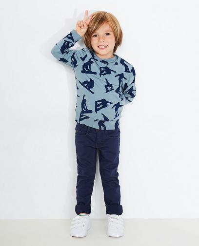 Sweater met allover print